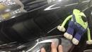Hyundai Elantra оклейка. Защита от сколов нового автомобиля. Пленка бронь на фары и бампер