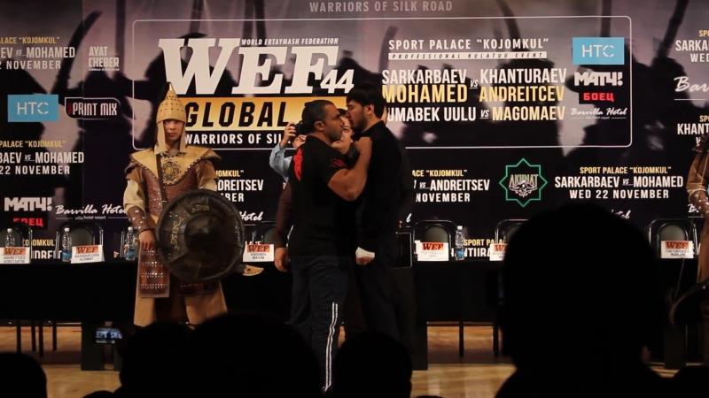 Кылычбек Саркарбаев сразится за пояс чемпиона мира WEF GLOBAL в полутяжелом весе с опытным Али FLEX Мухаммедом