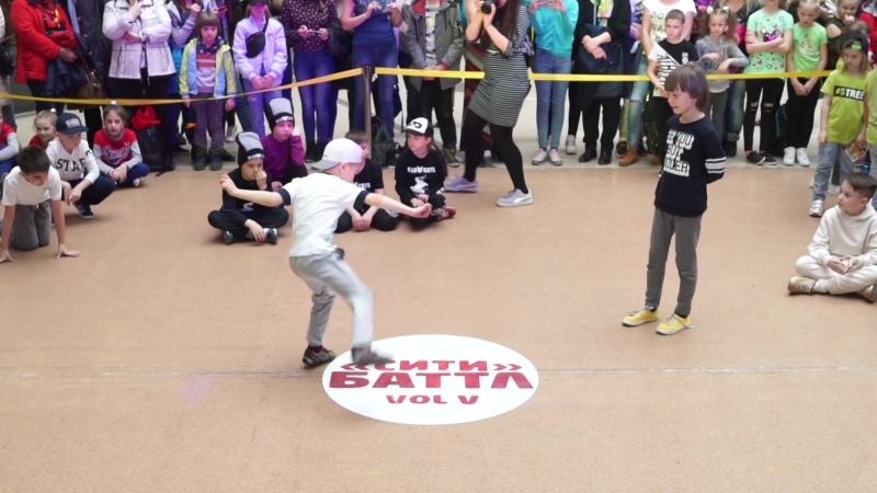 СИТИ БАТТЛ 5 BEST BREAK DANCE BABY BATTLE 1X1 BBOY АРТУР ws BBOY ДАНИЛИН ЕЛИСЕЙ (win)