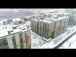 UP-квартал «Новое Тушино». Аэросъемка