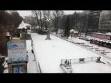 Снегопад в Осло