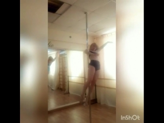 Pole dance Анна