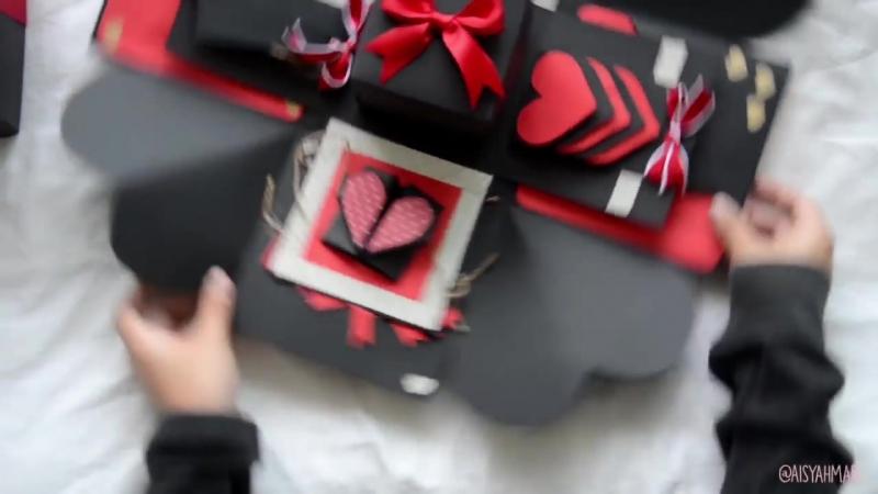 Explosion Box -- Birthday Gift -- Suprise Box