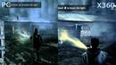 Alan Wake Head 2 Head PC vs X360