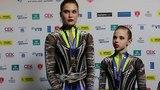 Interview gold medal winners WG Daria Chebulanka, Polina Plastinina & Kseniia Zagoskina Russia