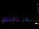 Лазерное шоу Dubai Festival city