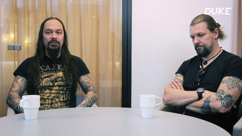 Interview with Tomi Joutsen Esa Holopainen (Paris, 2018 - Duke TV) [VOSTFR]