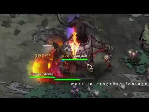 [HTML5 Game] Mad World MMO - Weekly WIP footage (Raid)