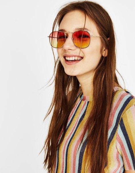 Солнечные очки с эффектом деграде