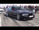 950HP BMW M5 E39 w Supercharger 1 2 Mile Drag Race Accelerations