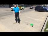 Проверка качества уборки в Купчино на проспекте Славы.