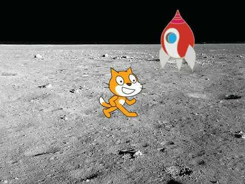 Полнометражный блокбастер «Первый кот на луне»