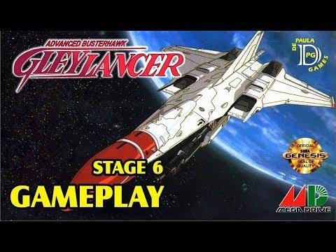 Glay Lancer MEGA DRIVE Gameplay Fase 6
