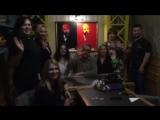 Ресторанный критик Олег Назаров в ресторане
