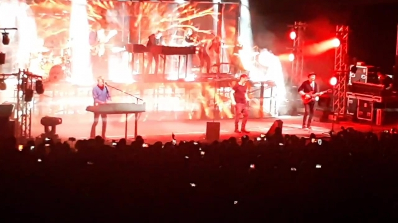 A-ha The Blood That Moves The Body (electric summer) Israel, 21.06.18