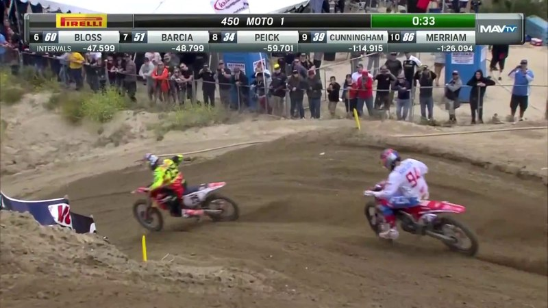 Glen Helen 450 Moto 1: Musquin and Roczen battle for second place