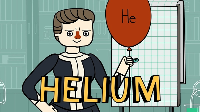 Marie curie's periodic pantry: helium