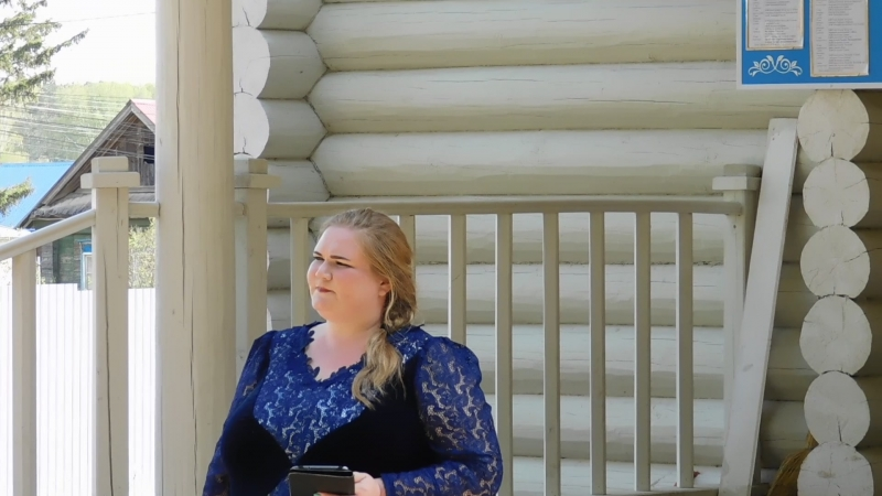 с.Пугачево, храм Иконы Пресвятой Богородицы «Неупиваемая чаша»,Ангел летит, поёт Екатерина Шкляева.