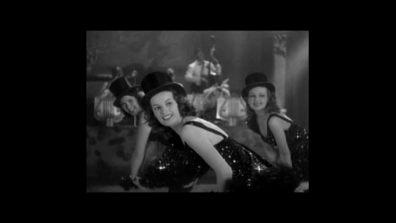 Lucille Ball and the Chorus Try To Finish A Dance Number