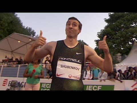 Sergey Shubenkov 110m Hurdles 12 99 WL Montreuil 2018