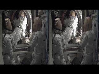 Экскурсия по международной космической станции 3D VR SBS