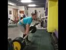 Алексей Карпиеня (Беларусь), становая тяга оси Аполлона - 240 кг (60мм) в рзнохват 💪