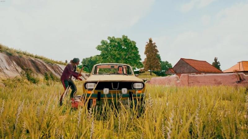 Таксист фермер спешит на помощь!