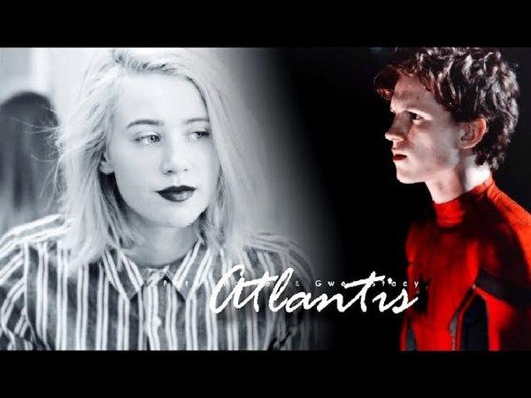 Peter Parker Gwen Stacy    Atlantis [Spider-Man AU]