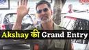 Akshay Kumar Grand Entry at Trailer Launch of Marathi Film Chumbak