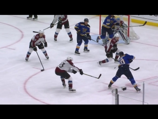 Colorado Avalanche vs St. Louis Blues – Jan. 25, 2018. Game Highlights