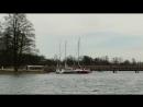 Обзор Тракайского замка с борта вёсельной лодки. Часть 1.