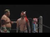 GAINA, Taro Nohashi (c) vs. Yapper Man 1, Yapper Man 2 (Michinoku Pro - Tokyo Conference 2018 Vol. 2 ~ Jisetsu Torai)