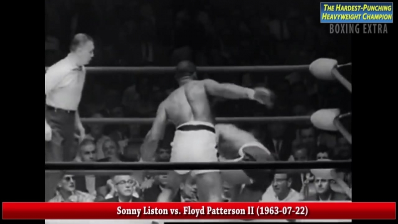 Sonny Liston The Hardest Punching Heavyweight Champion