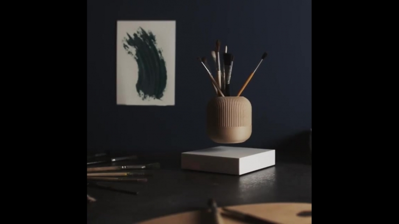 Looma Levitating Pot by LOOMA