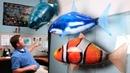 Летающие рыбы акула Шарк и рыбка Немо на радиоуправлении.
