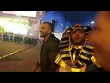 Футбольные фанаты провели хоровод в фан-зоне ЦПКиО