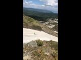 Красная гора. 2471 метр над уровнем моря!
