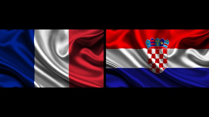 Франция vs Хорватия финал FIFA 2018