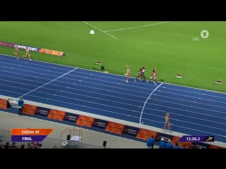 5000 m: Israeli Salpeter cheers too soon Her jubilation cost her the medal 12/8/18