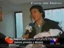 Актёр Густаво Бермудес забирает дочку Мануэлу из роддома 2000г
