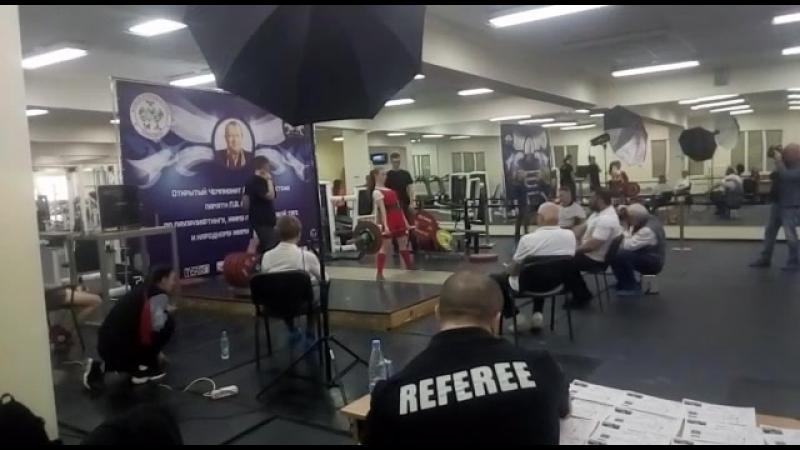 Чемпионат ДВ, тяга 1 подход - 100 кг
