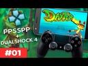 Daxter Conhecendo o game 01 PPSSPP Dualshock 4