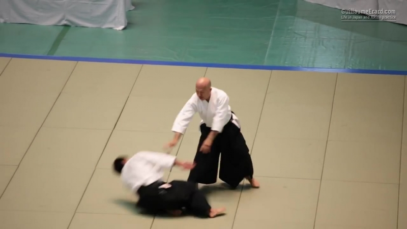 Aikikai Aikido - Kuribayashi Takanori Shihan - 54th All Japan Aikido Demonstrati