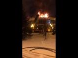 Пожар дома еды на цветном бульваре. Автор видео: Александр Уколов