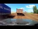 Строительство дороги. Север Удмуртии.