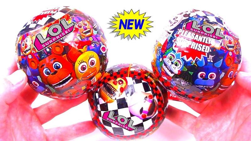 LOL Surprise Ball FNAF Fake LOL Dolls КИТАЙСКИЙ ЛОЛ ШАР ФНАФ ДЕШЁВАЯ ПОДДЕЛКА
