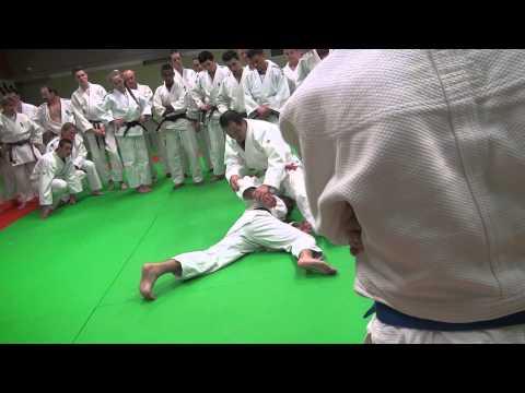 Position défence des jambes conduit par Nobuhisa Hagiwara (expert Japonais)