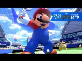09.06   Новости игр #41. Mario Tennis Aces, FIFA 19, Days Gone