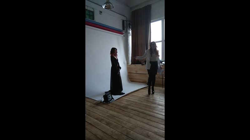 Работа с моделью Элина Мюллер