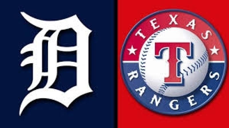AL / 08.05.2018 / DET Tigers @ TEX Rangers (2/3)